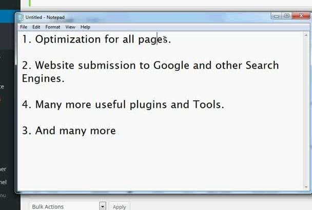 yoast SEO Wordpress Onpage Optimization