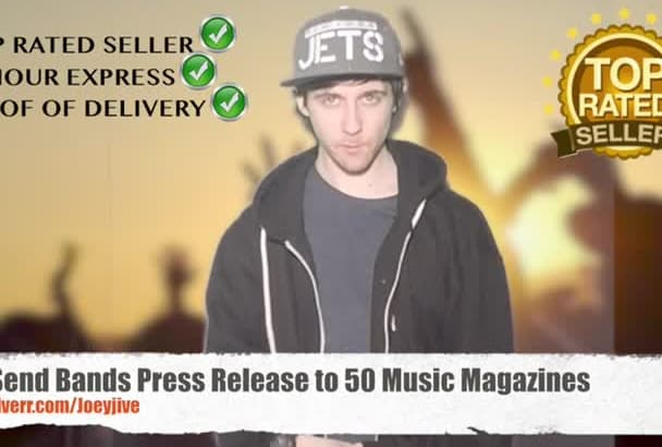 send Band Press Release to 50 Music Magazines