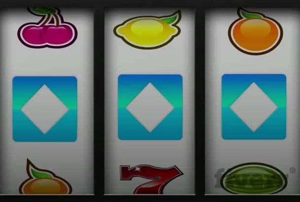 do Las Vegas Casino Slot Machine Logo Reveal Intro