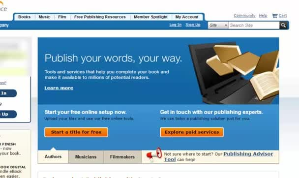 format your book for CreateSpace publishing FAST