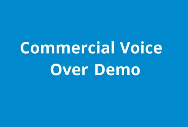 record a professional voice over spot