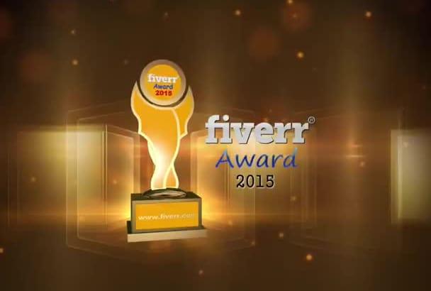 create award show intro animation