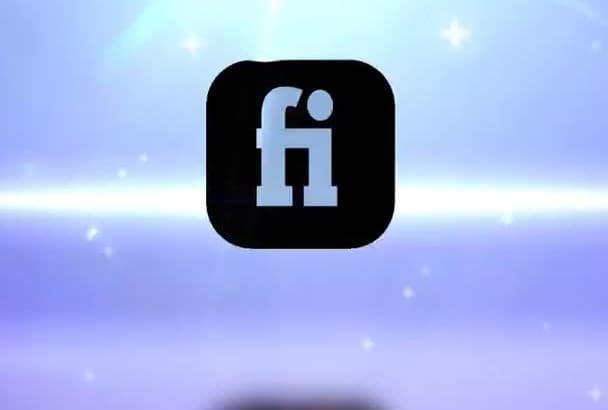 make logo INTRO video