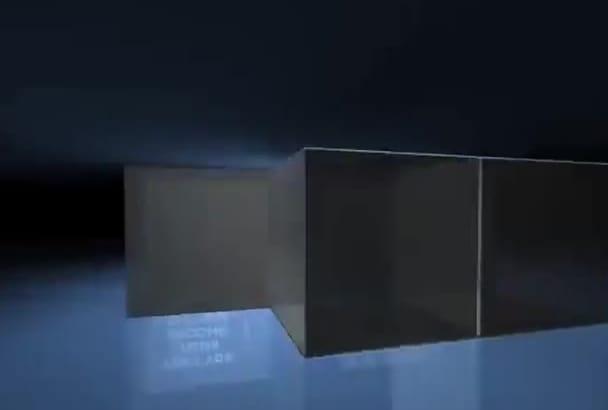 create this AMAZING 3D box intro