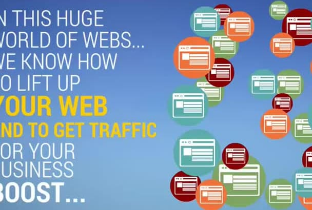 make an advertise promoting your seo,smm services