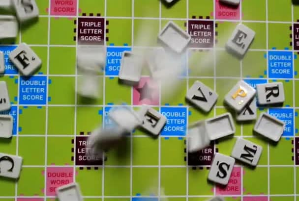 send you photos of your message from scrabble tiles or cut off papers