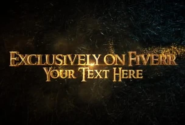 gold Trailer logo or text