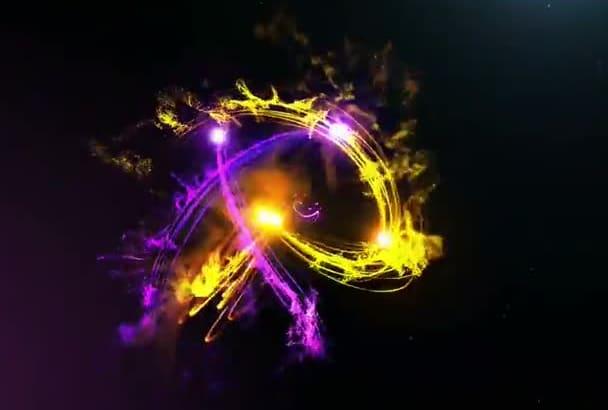 create Amazing Orbit Logo Intro