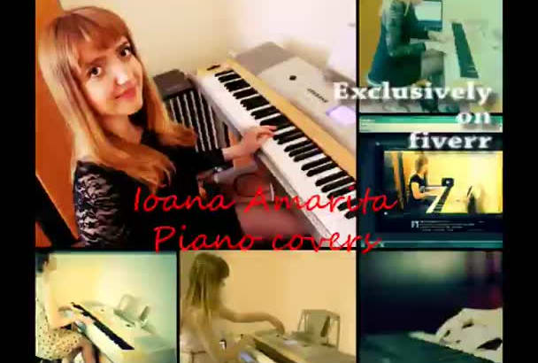 record piano for your song