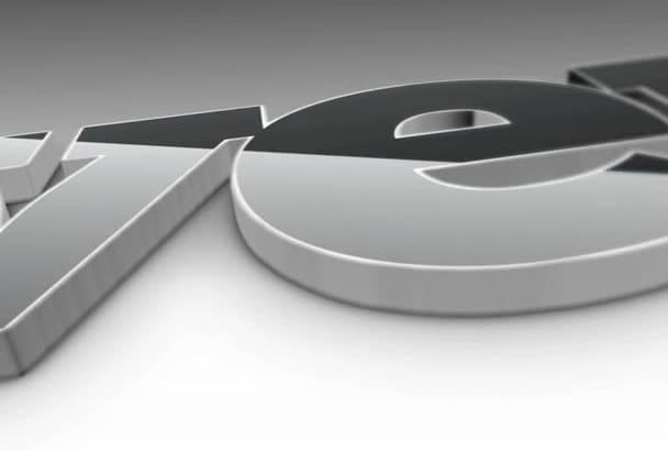 produce a 3D video