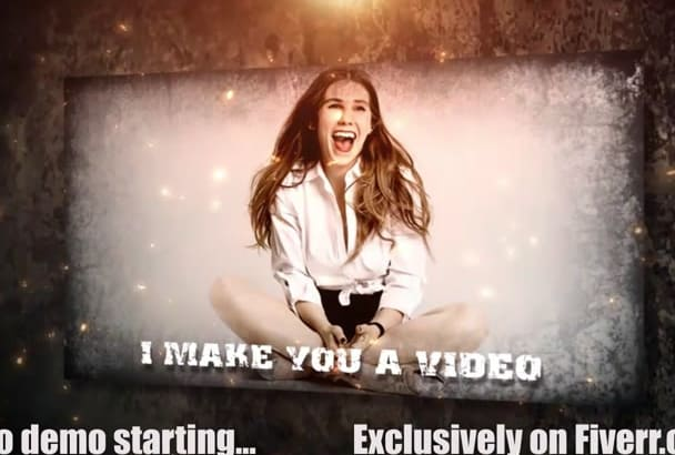 make You a Grunge Style Video HD For Advertising