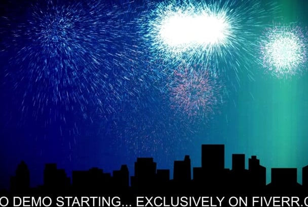 make You a Happy New Year Video Greeting in HD