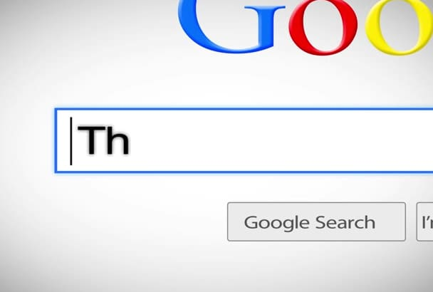 make Google search video for your website product or service