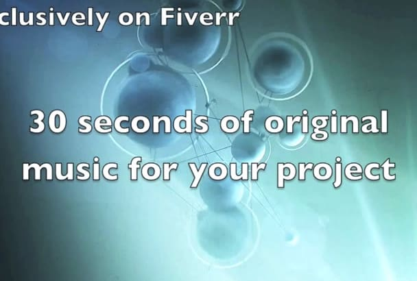 compose 30 seconds of exceptional music
