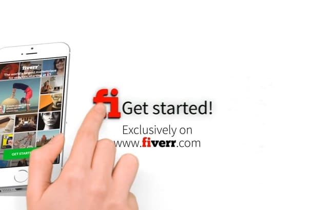 promo video for iOS, Android or Windows App