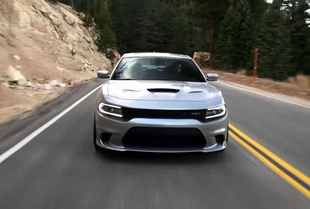 add your Logo on New MUSCLE Car Video Dodge Charger