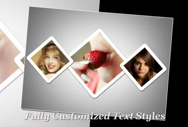 create elegant video slideshow from pictures