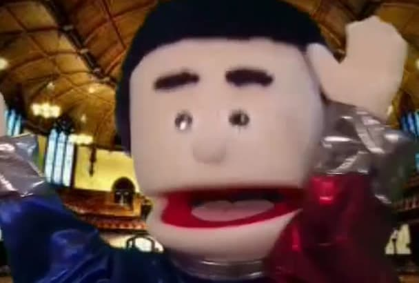 preacher Puppet Funny Web Ad Video Message