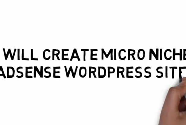 create micro niche adsense wordpress site