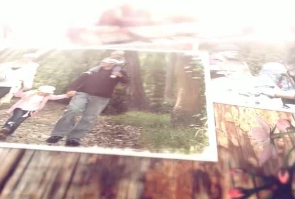 create a Family Photo Video Album
