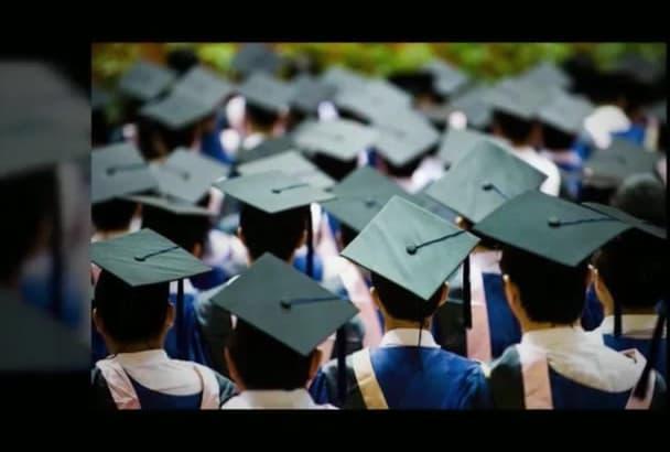 create a Graduation Photo Video Album