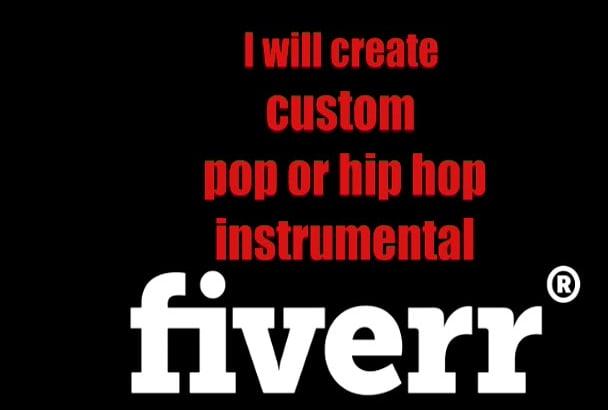 create custom pop or hip hop instrumental