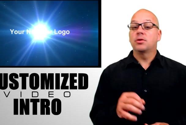 produce a HighTech video Intro