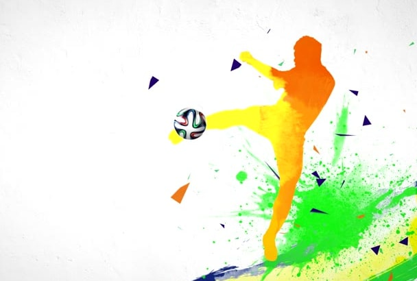 do SOCCER Sport Logo Intro Video