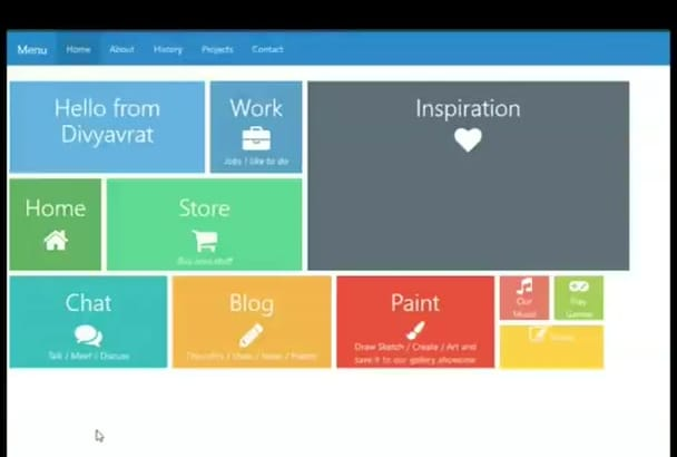 create the BEST looking website for you