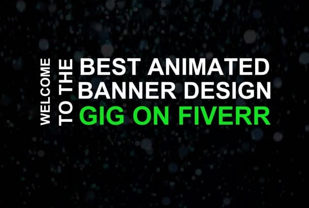design High quality Animated Gif, Flash or a HTML5 banners