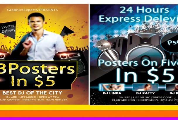 do FLYER design fastly