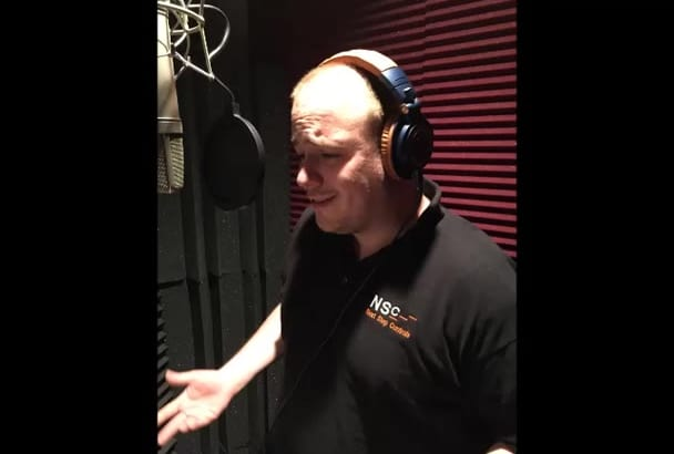 deliver a quality voiceover in under 24 hours