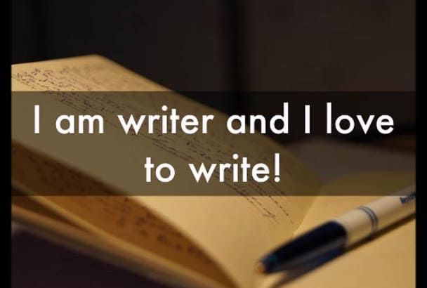 write articles and blogs for you