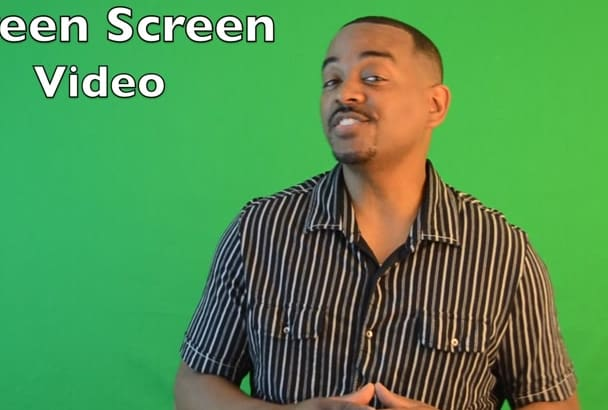 record a Green Screen video in HD