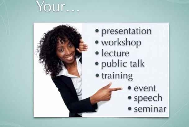 create your Workshop or Event Plan