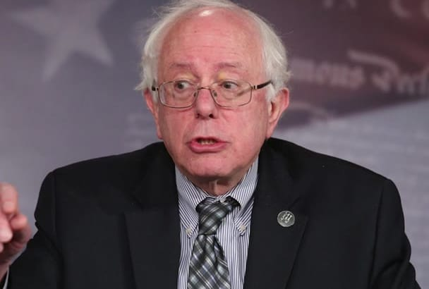 record a voiceover as Bernie Sanders