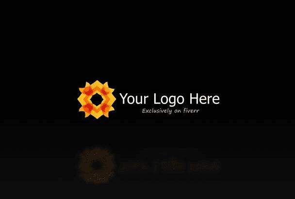 create amazing quick burning logo intro