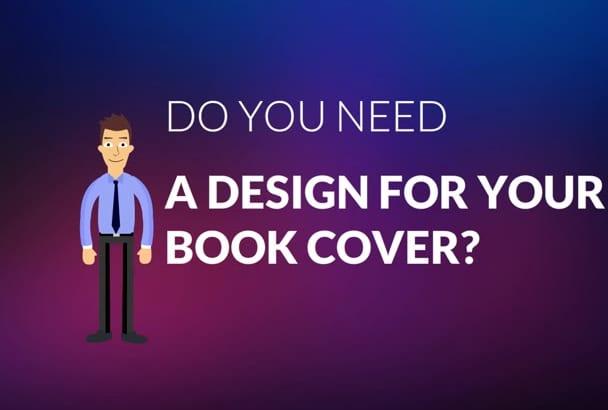 custom design your next Book Cover