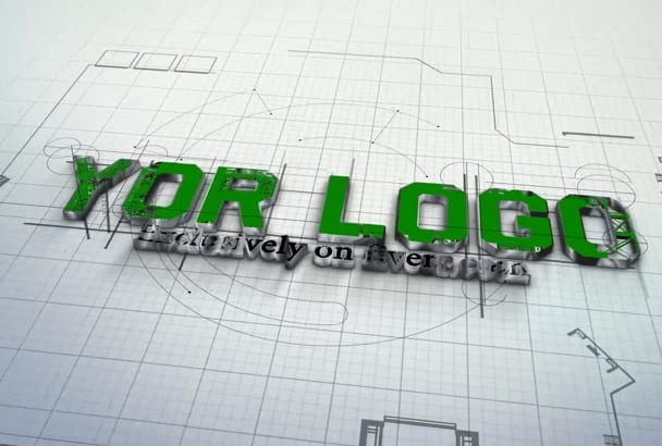 create This Amazing Architect Logo Intro