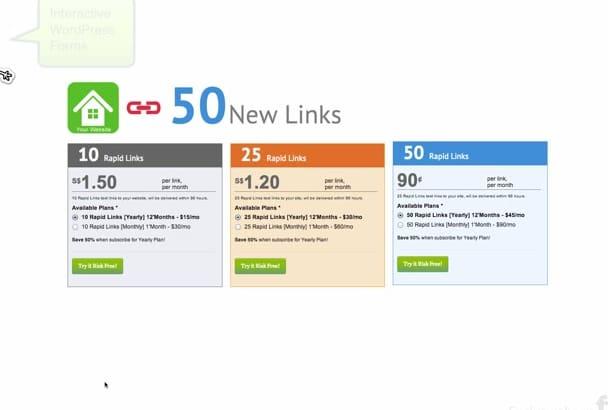 create professional content rich WordPress form