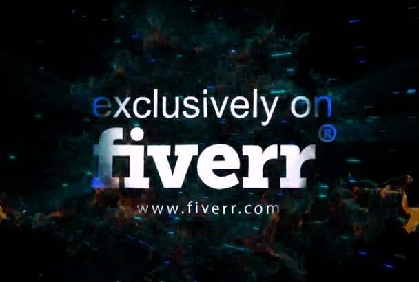 make best logo reveal video intro in Full HD