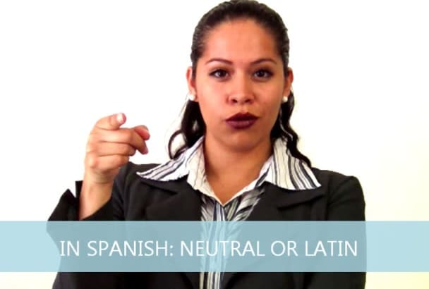 do PRO voice over in Spanish