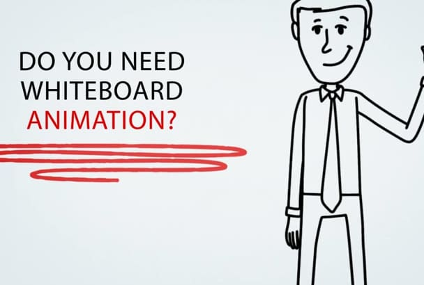 whiteboard Animation Explainer Video for you in 24h