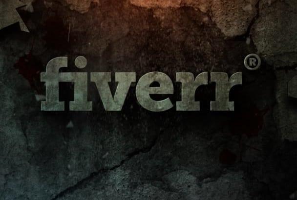 cinematic Shatter Logo Intro