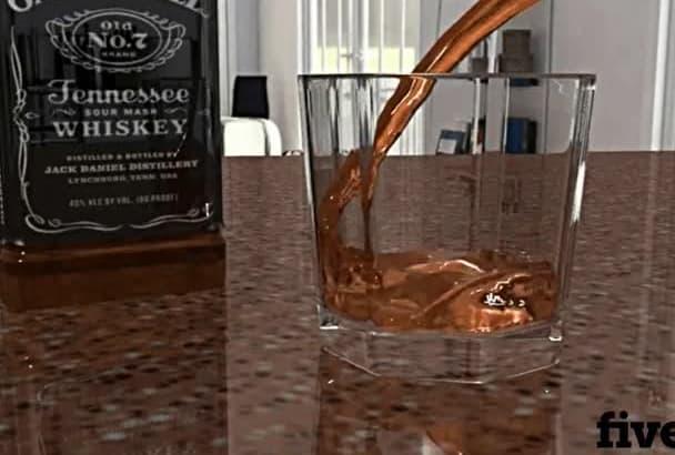 make 3D fluid animation