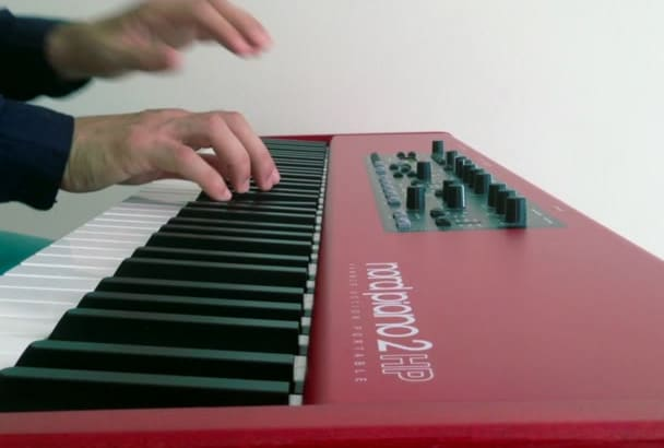 compose a perfect piano song for you