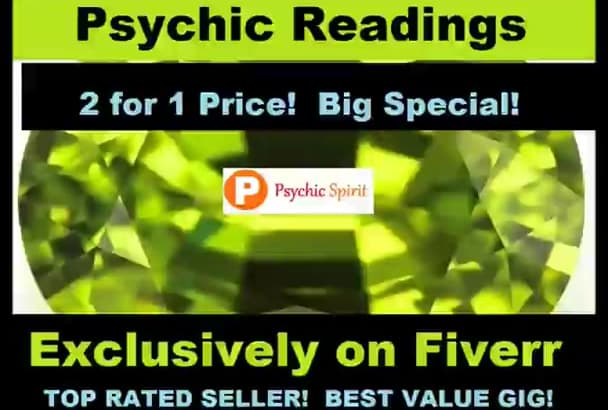 2 for 1 PSYCHIC READiNGS NoW Option Top Seller