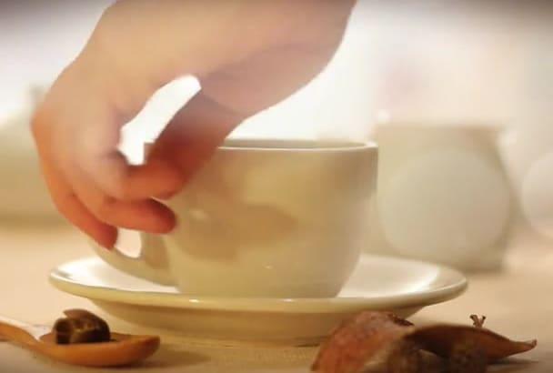 design High Quality Tea cup promo video