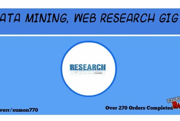 do Data Mining,Data Collection,Web Scrape,Research,Email Extraction