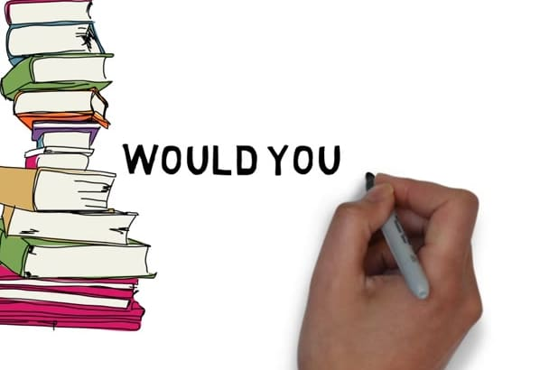 promote your Book in an Amazing animated Whiteboard Video